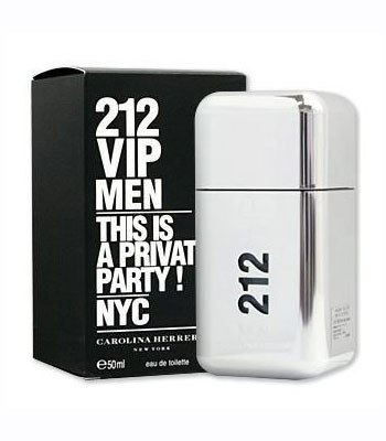 Carolina Herrera - 212 VIP MEN 男性淡香水-50ml