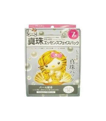 CHARACON - 日本限定KT珍珠嫩白面膜-7片