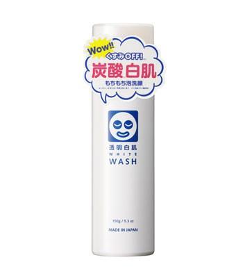 Love Drop - 新透明白肌淨白保濕炭酸泡沫洗顏-150g