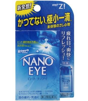 Eye drops - Nano Eye眼藥水(清涼勁爽款)-6ml