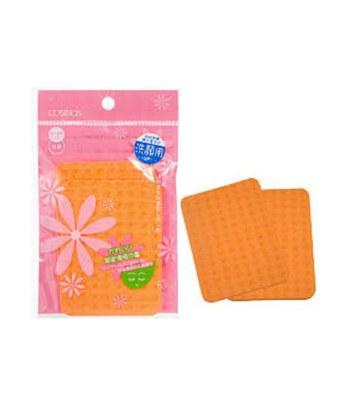 COSMOS - 洗臉海綿(方形)-2入