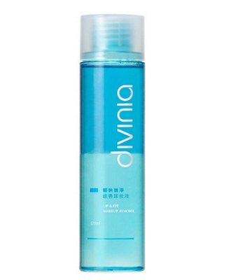 Divinia - 輕快速淨眼唇卸妝液-120ml