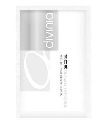 Divinia - 浸白肌傳明酸浸潤面膜-5入
