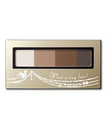 INTEGRATE - 立體光效四色眉粉盒