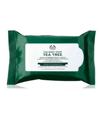 THE BODY SHOP - (升級版)有機天然茶樹淨膚清爽潔顏布-1包
