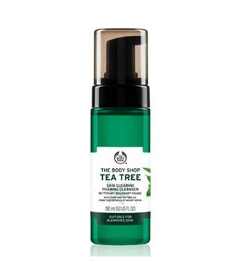 THE BODY SHOP - (升級版)有機天然茶樹淨膚潔面慕絲-150ML