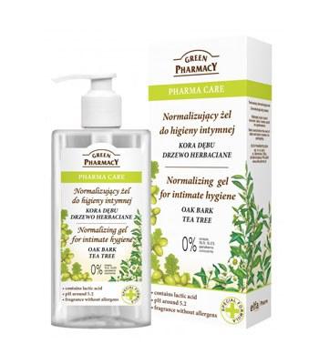 GREEN PHARMACY - 茶樹平衡水嫩私密潔膚露-300ml