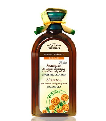 GREEN PHARMACY - 金盞花強健修護洗髮精-350ml