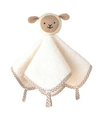 Hoppetta* - 微笑羊口水安撫巾-1入