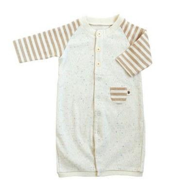 Hoppetta* - 有機棉條紋連身兔裝