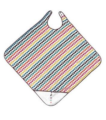BoBo - 幾何圖騰洗澡浴巾圍裙-1件