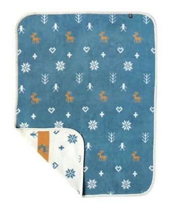BoBo - 麋鹿棉毛毯-1件