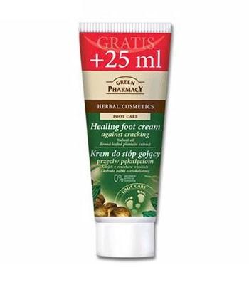 GREEN PHARMACY - 胡桃油&車前草腳跟防裂霜-75ml