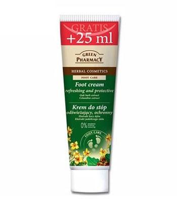 GREEN PHARMACY - 沙棘&橡樹滋養修護足部霜-100ml