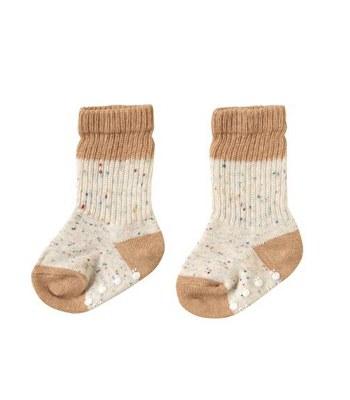 Hoppetta* - 有機綿元氣水玉棉襪