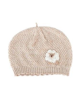 Hoppetta* - 有機棉綿羊針織帽-1個