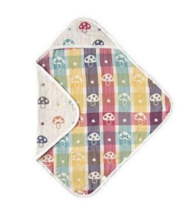 Hoppetta - 六層紗蘑菇包巾(方型)-1入