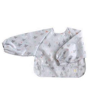 Hoppetta - 花語森林長袖餐圍兜