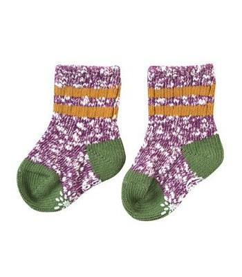 BoBo - BOBO彩色短襪(紫)
