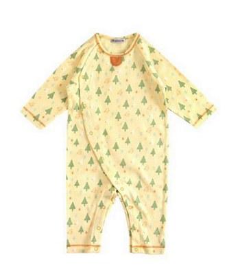 Hoppetta - 小樹森林連身衣(黃)-1入