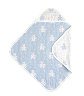 SOULEIADO - 六層紗普羅旺斯熊包巾