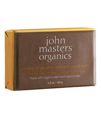JOHN MASTERS ORGANICS - 【回饋價】柳橙人蔘去角質皂-128g