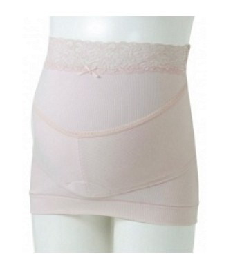 inujirushi - 可調式托腹帶(醫療用束帶) 粉紅色