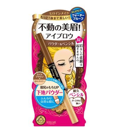 KISS ME - 花漾美姬 極自然持久兩用眉粉筆