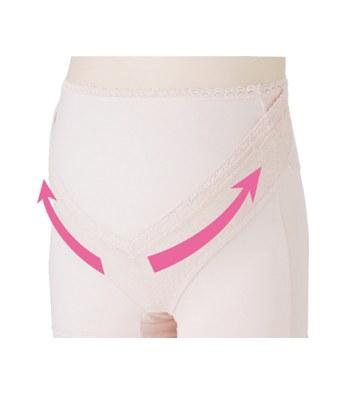 inujirushi - 可調式加強型托腹褲(醫療用束帶)粉紅色