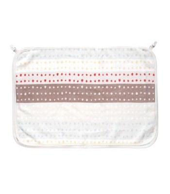 NAOMI ITO - 繽紛波點多功能棉毛哺乳巾-1 入