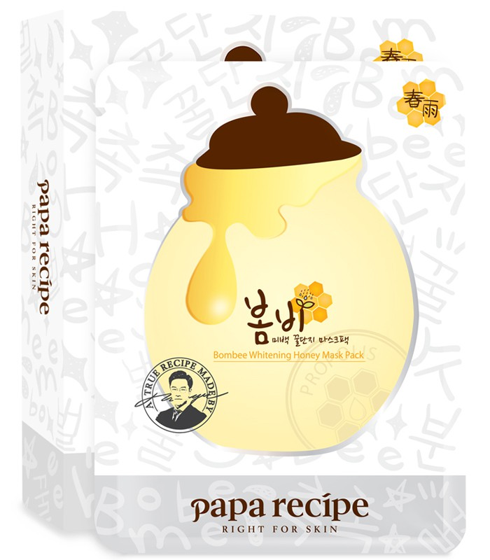 Papa recipe - papa recipe春雨美白蜂蜜保濕面膜-10枚