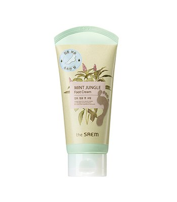 the saem - MINT JUNGLE 足部滋養霜 (新版)-120ml