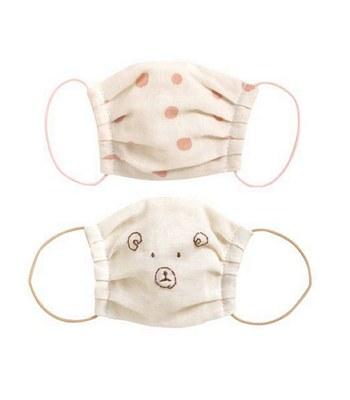 NAOMI ITO - KUMA波點熊口罩二件組