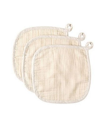 NAOMI ITO - 甜蜜微笑四層紗方巾