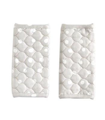 NAOMI ITO - POCHO空氣棉揹巾口水巾-灰-1 對
