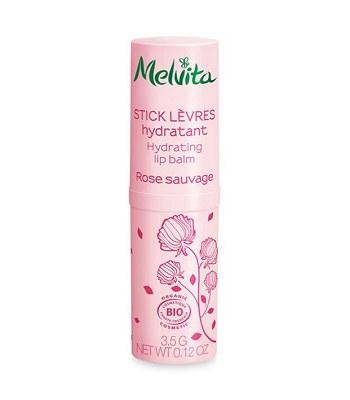 Melvita - 【回饋價】王者玫瑰凝水護唇膏-3.5g