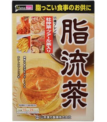 Japan buyer - 山本漢方 脂流茶-10g×24包