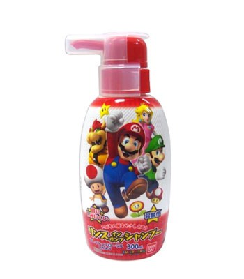 BANDAI - 超級馬利歐 兒童洗髮精-300ml