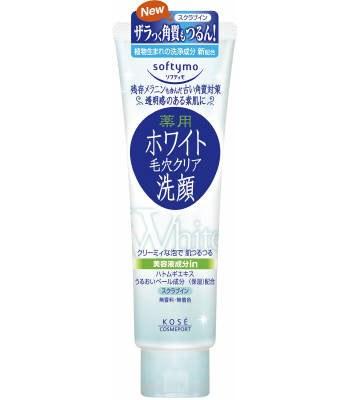 KOSE - Softymo淨白深層顆粒潔面乳-150g
