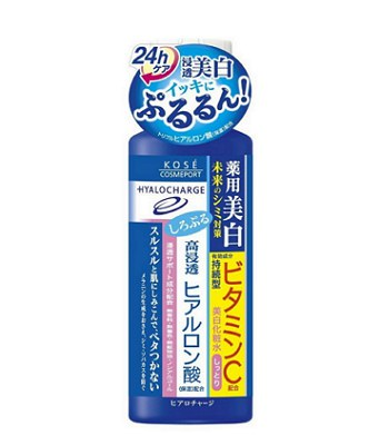 KOSE - 高保濕美白玻尿酸化妝水(滋潤)-180ml