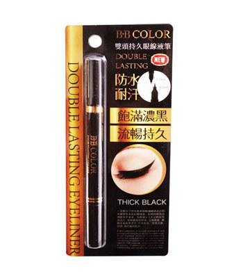 BB COLOR - BB COLOR雙頭持久眼線液筆-3g