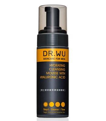 DR.WU (品牌85折) - 男士玻尿酸保濕潔顏幕斯-160ml