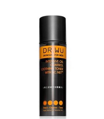DR.WU (品牌85折) - 男士舒緩控油醒膚水-150ml