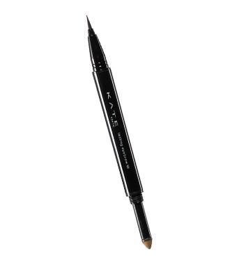 KATE - 雙用立體眉彩筆(液體)- BR-1 明亮棕-0.4ml/0.6g