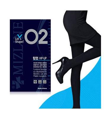 MIZLINE - 瘦腿褲襪(收腹不透肉)-02-1入