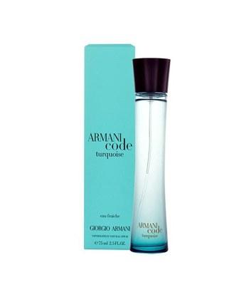 Myhuo Recommend Perfume - 【回饋價】Armani Code Turquoise女性淡香水-75ml
