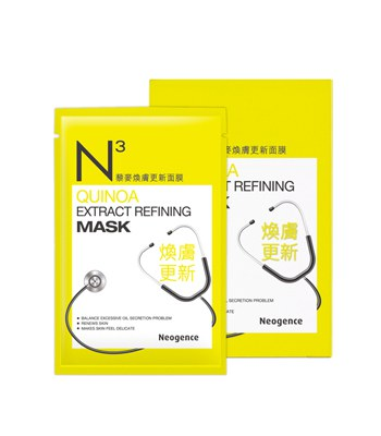 Neogence - 藜麥煥膚更新面膜-10片
