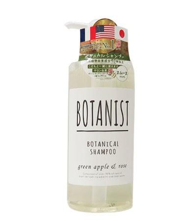BOTANIST - 植物性洗髮精(白蓋柔順型)-青蘋果玫瑰香-490ml