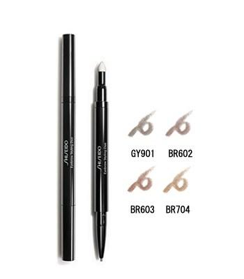 SHISEIDO Global - 時尚色繪雙效超型眉筆