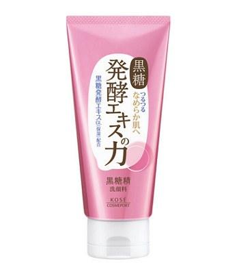 KOSE - 黑糖精毛孔深層洗顏乳-130g
